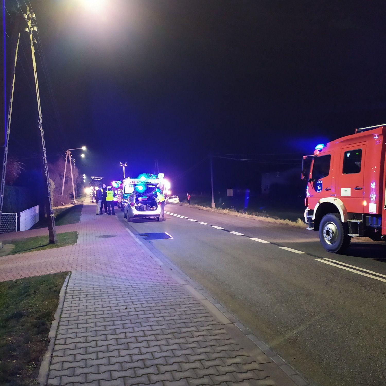 Wczorajszy wypadek na ul. Męczenników Oświęcimskich w Ćwiklicach