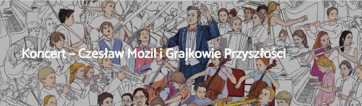Czesław Mozil i grajkowie przyszłości zagrają w Suszcu