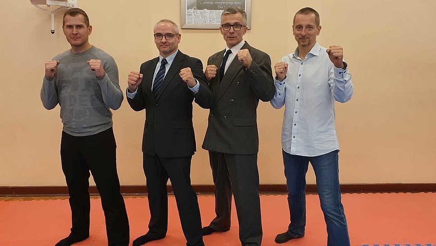Michał Gawełczyk z Pawłowic z prestiżowym tytułem Trenera Karate Klasy Mistrzowskiej
