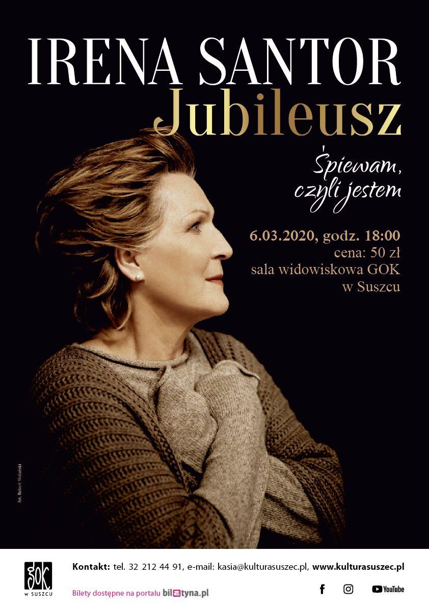 Śpiewam, czyli jestem - diamentowy jubileusz Ireny Santor w suszeckim GOKu