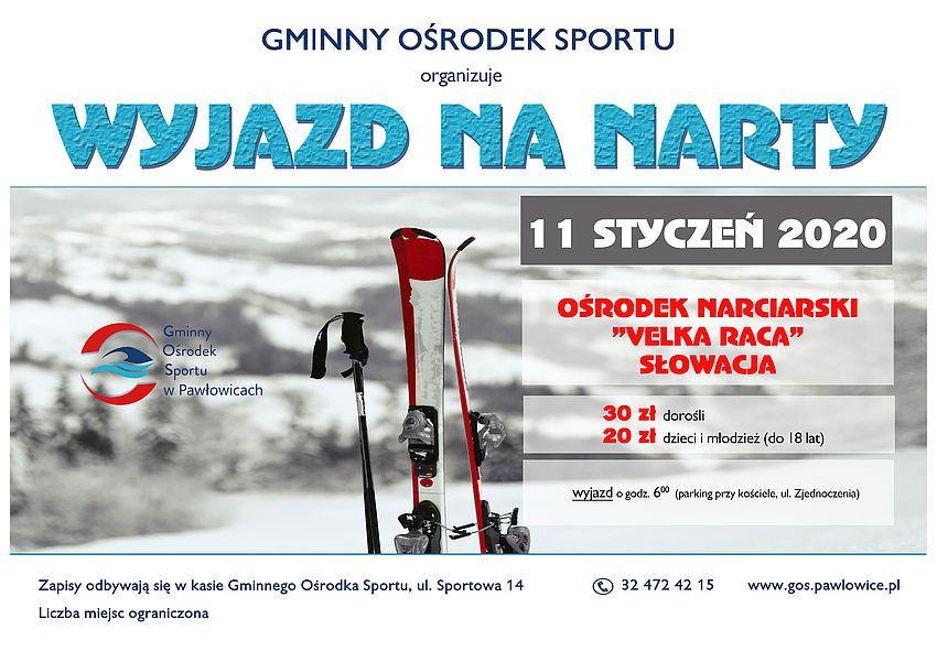 Pierwszy wyjazd na narty z pawłowickim GOS-em