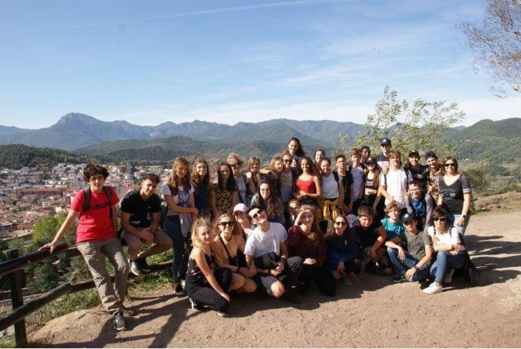 Wymiana uczniów PZS nr 2 w Hiszpanii