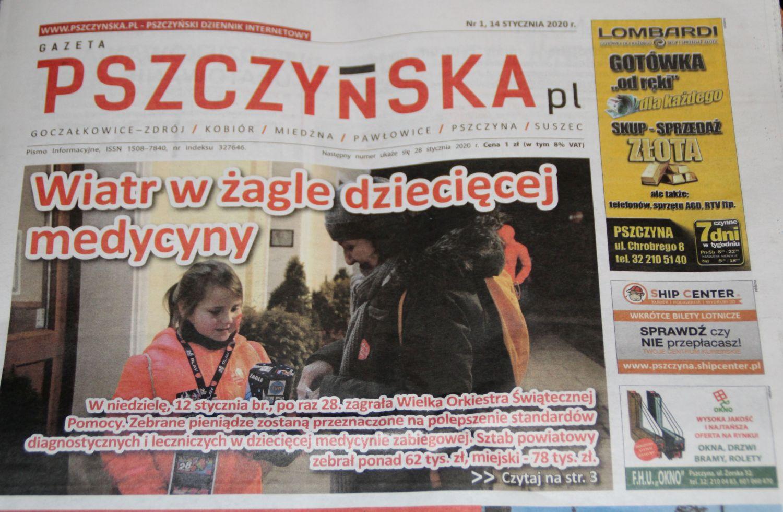 Nowy numer Gazety Pszczyńskiej już w kioskach. O czym piszemy?