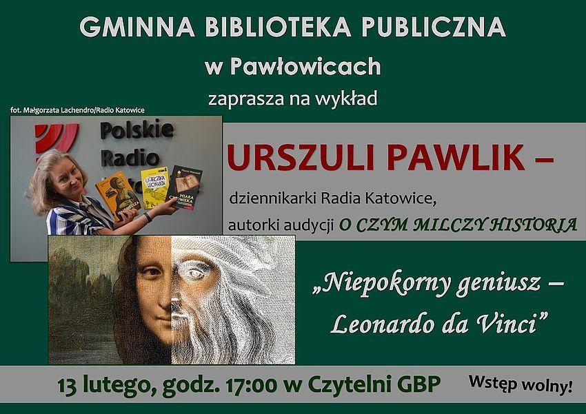Wykład Urszuli Pawlik