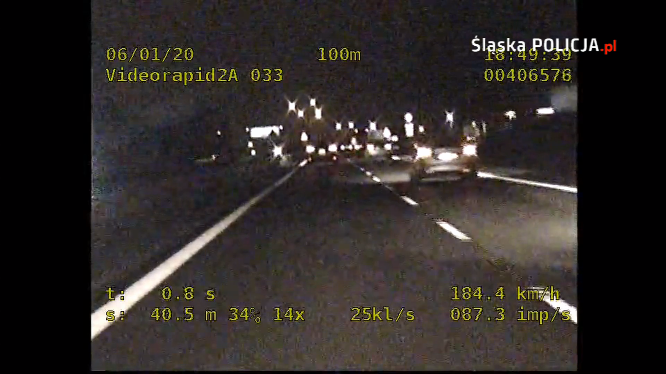 """Policjanci specgrupy """"Speed"""" podsumowali miniony rok w Śląskiem"""