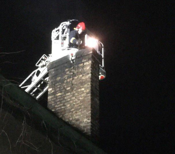 Plaga pożarów sadzy w kominie