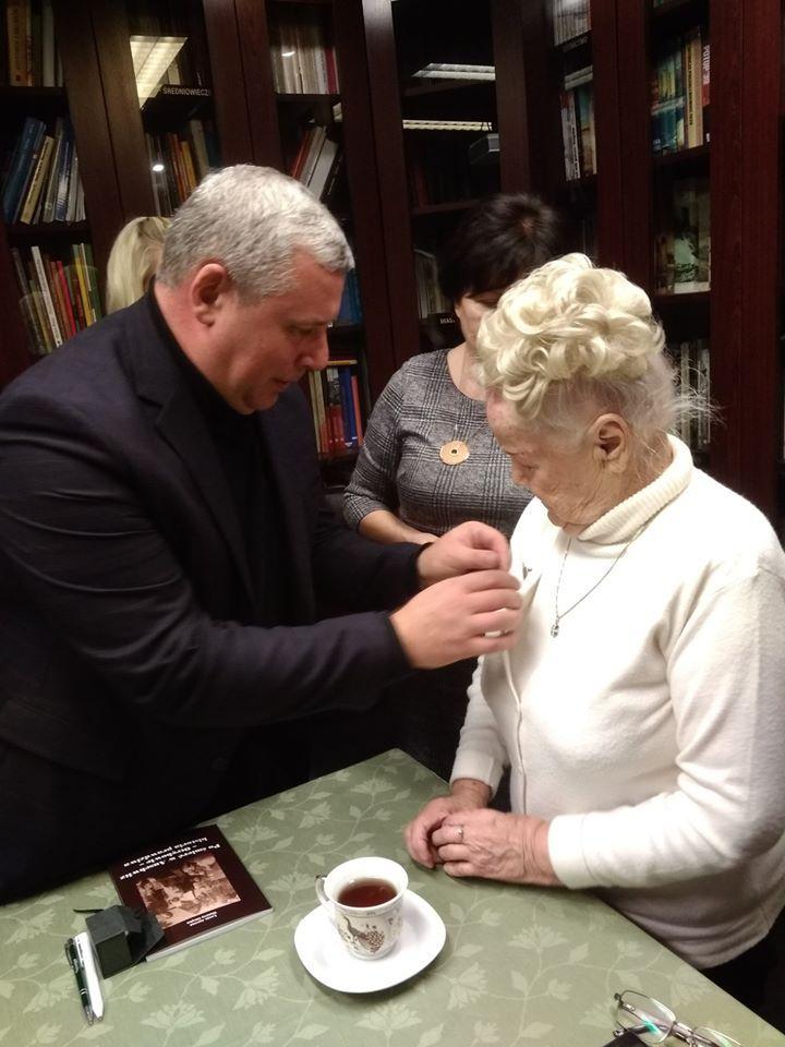 Łucja Janosz honorowym członkiem Stowarzyszenia Pro Memoria