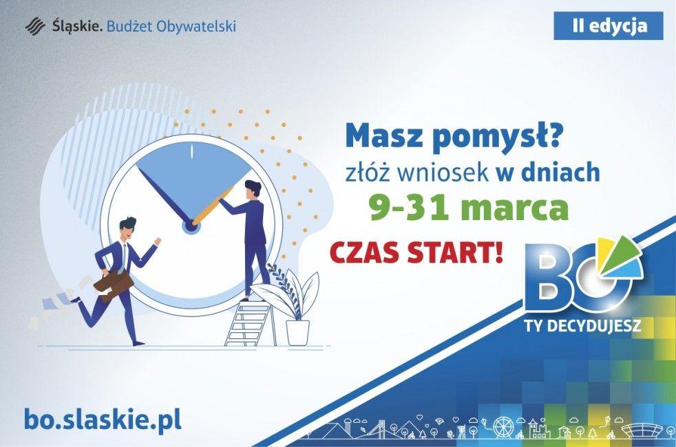 Nabór wniosków w II edycji Marszałkowskiego Budżetu Obywatelskiego