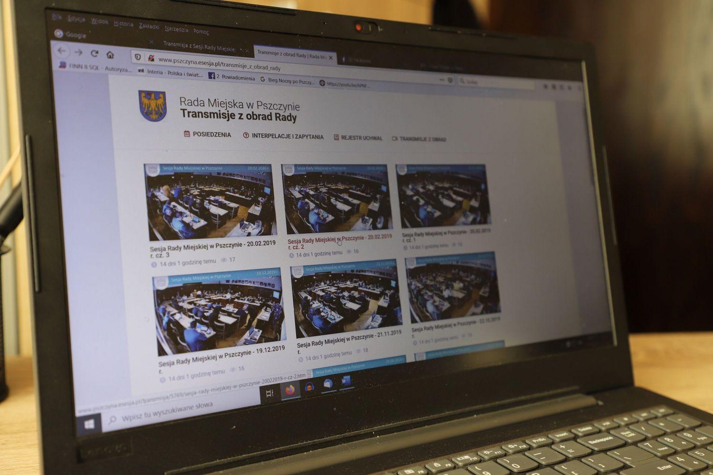 Transmisje on-line  z sesji i przetargów