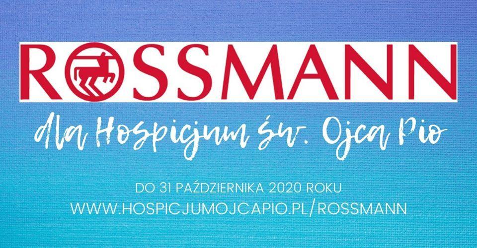 Zakupy w Rossmannie to pomoc dla pszczyńskiego hospicjum!