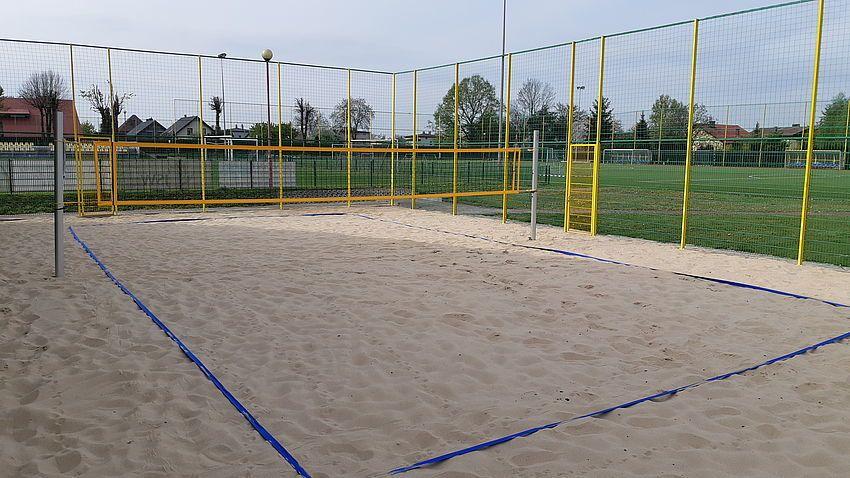 W Pawłowicach powstało boisko do siatkówki plażowej
