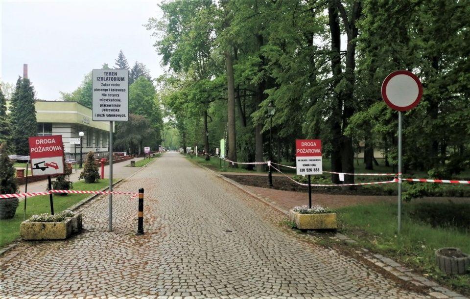 Zakaz ruchu na ulicy Uzdrowiskowej