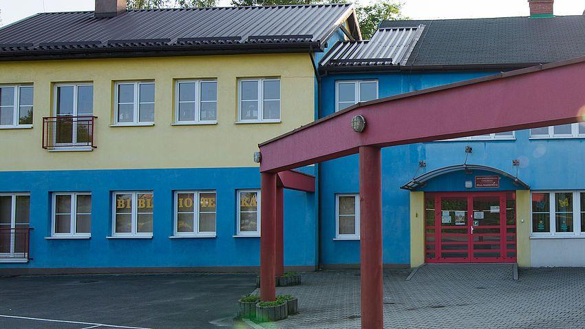 Przebudowa Szkoły Podstawowej w Warszowicach