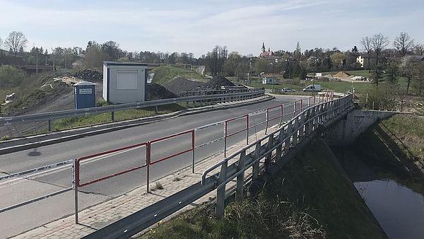 Rusza przebudowa mostu w Krzyżowicach