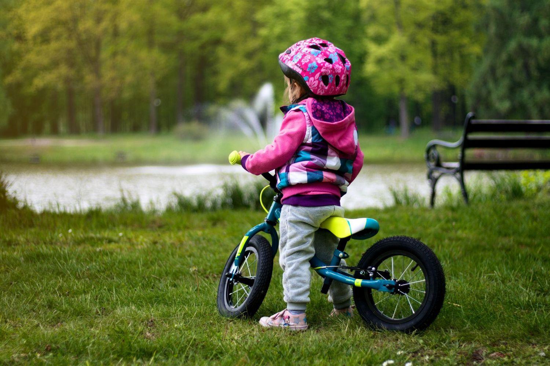 Dziecięce rowery w wypożyczalni Pszczyńskiego Roweru Miejskiego