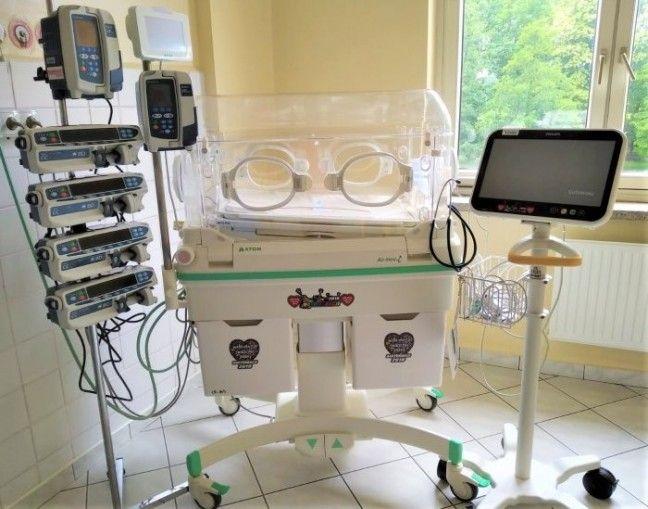 Sześć pomp infuzyjnych trafiło na Oddział Neonatologiczny pszczyńskiego szpitala