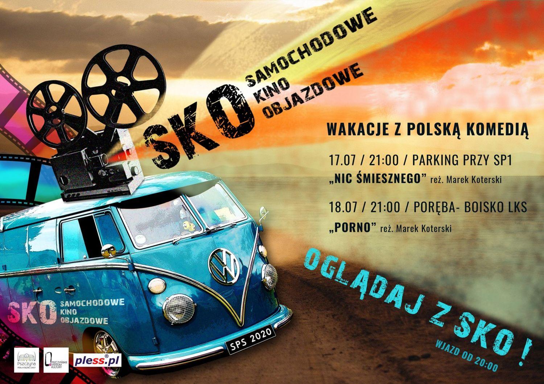 Samochodowe Kino Objazdowe zawita do Pszczyny