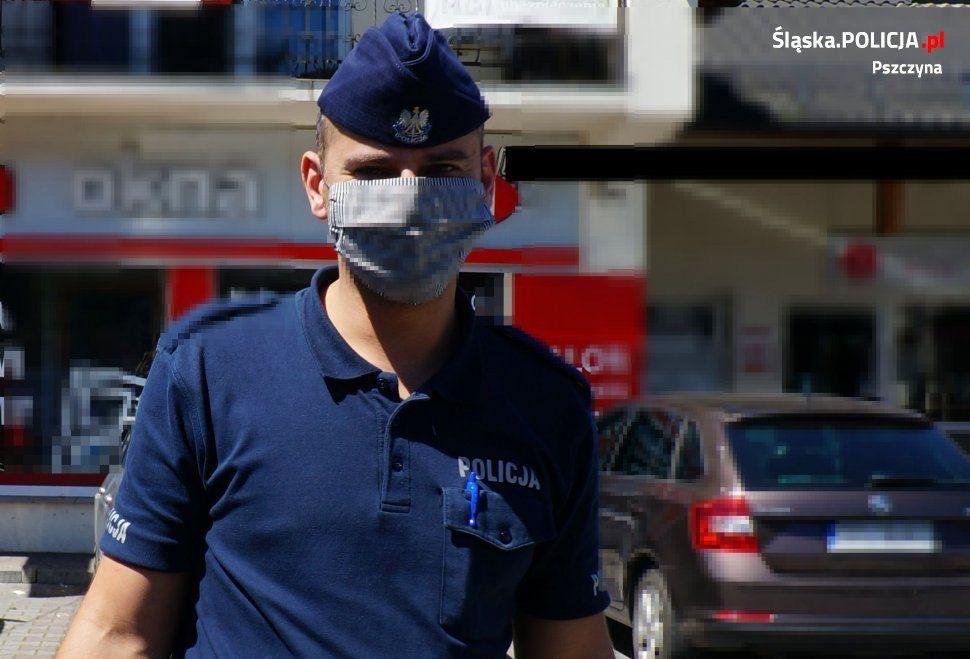 Pszczyńscy policjanci nadal kontrolują sklepy