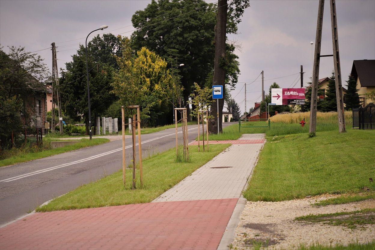 Gmina wesprze powiat w budowie chodnika