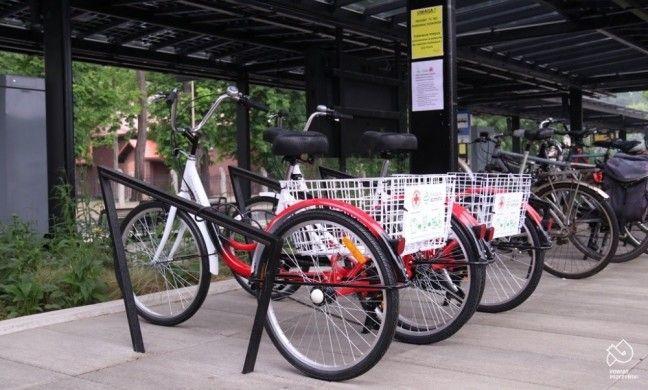Powiat pszczyński wypożycza rowery trójkołowe i sprzęt rehabilitacyjny