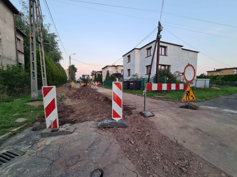 Przebudowa ulicy Krasińskiego w Pszczynie