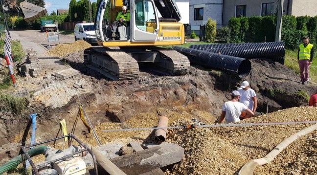 Powiat pszczyński modernizuje ulicę Rodzinną