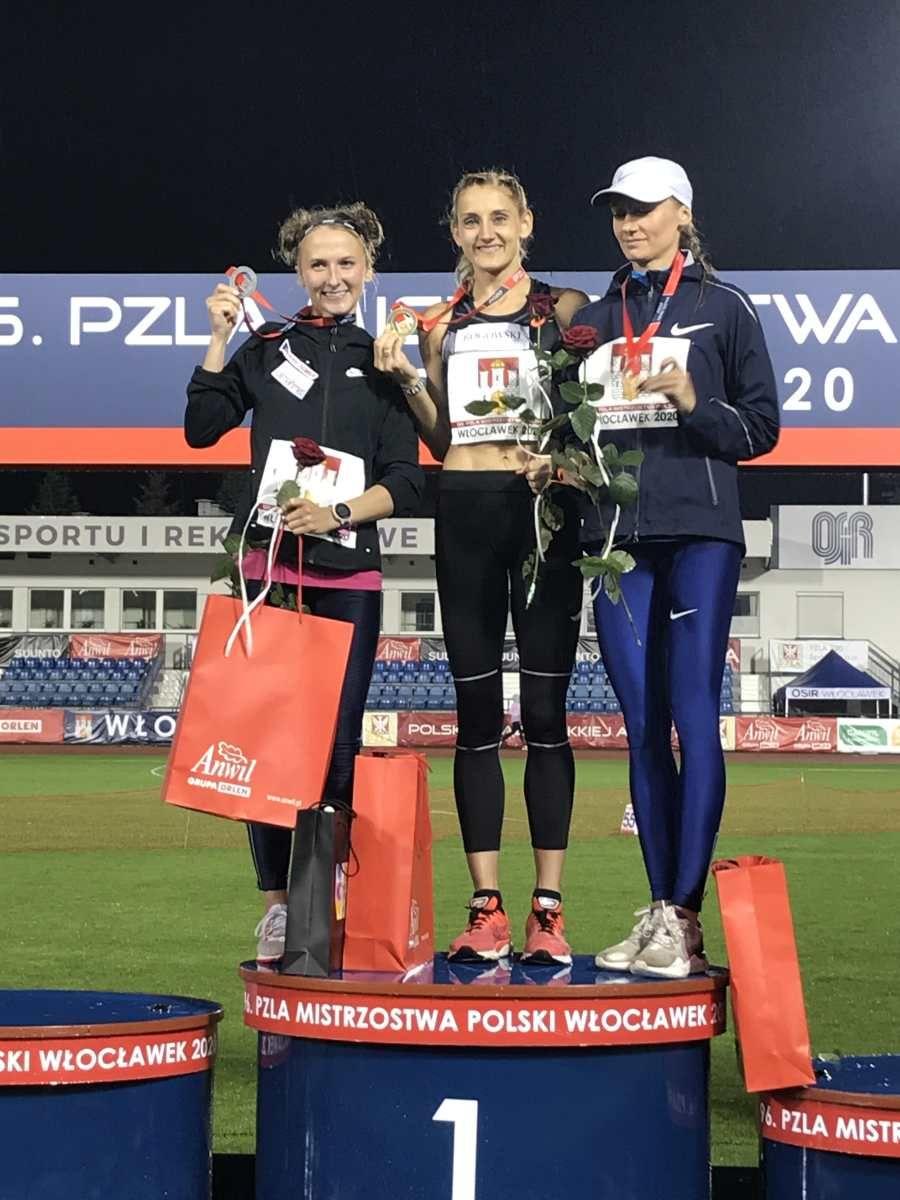 Sylwia Indeka wicemistrzynią Polski na 5000 m!