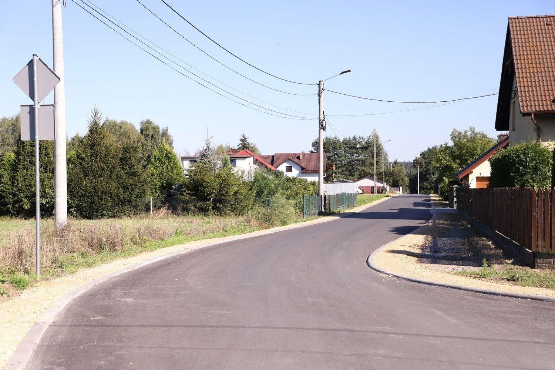 Ulica Piaskowa na osiedlu Polne Domy już gotowa