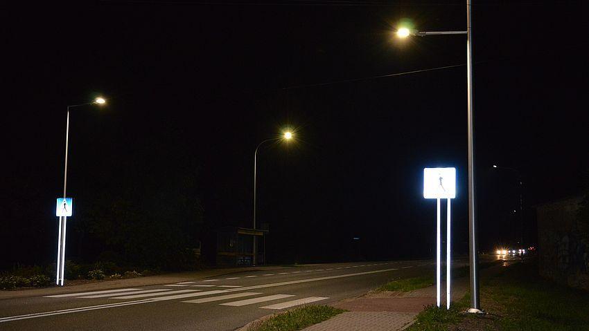 Jaśniej i bezpieczniej w Golasowicach