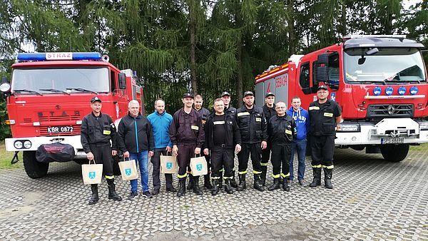 Pawłowicki wóz strażacki trafił do OSP Murzynowo Leśne