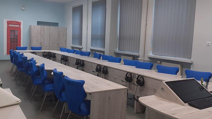 Nowa pracownia językowa w Warszowicach