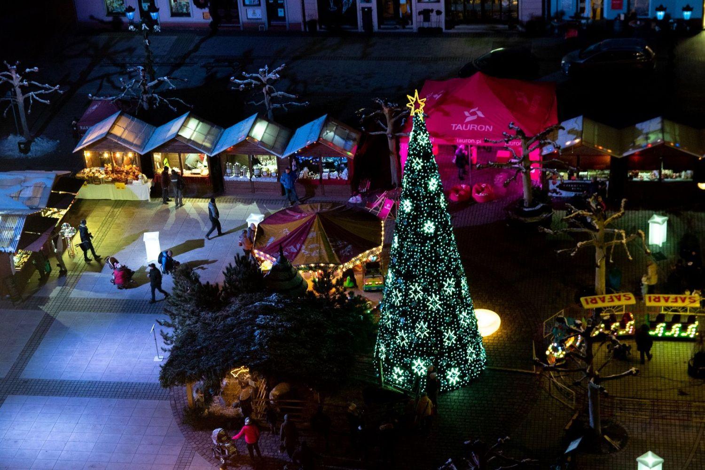 Jarmark świąteczny w Pszczynie