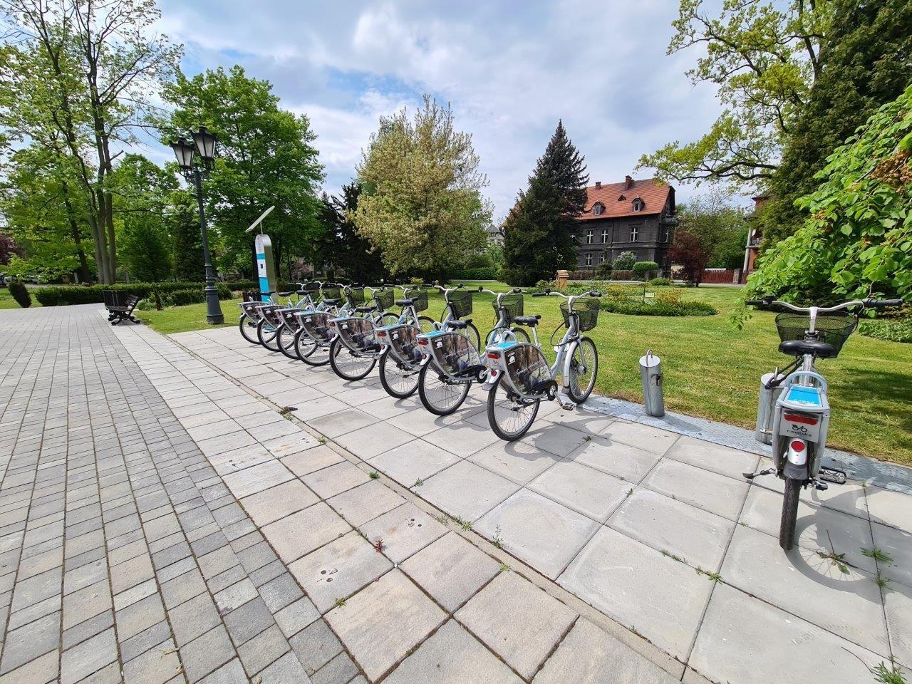 Pszczyński Rower Miejski: blisko sześć tysięcy wypożyczeń w 2020 roku