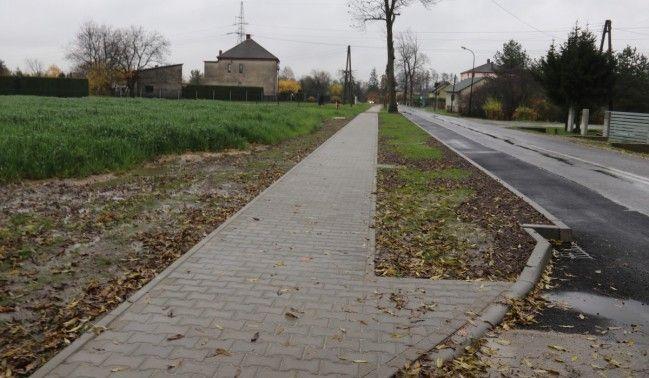 Chodnik na osiedlu Stara Wieś gotowy