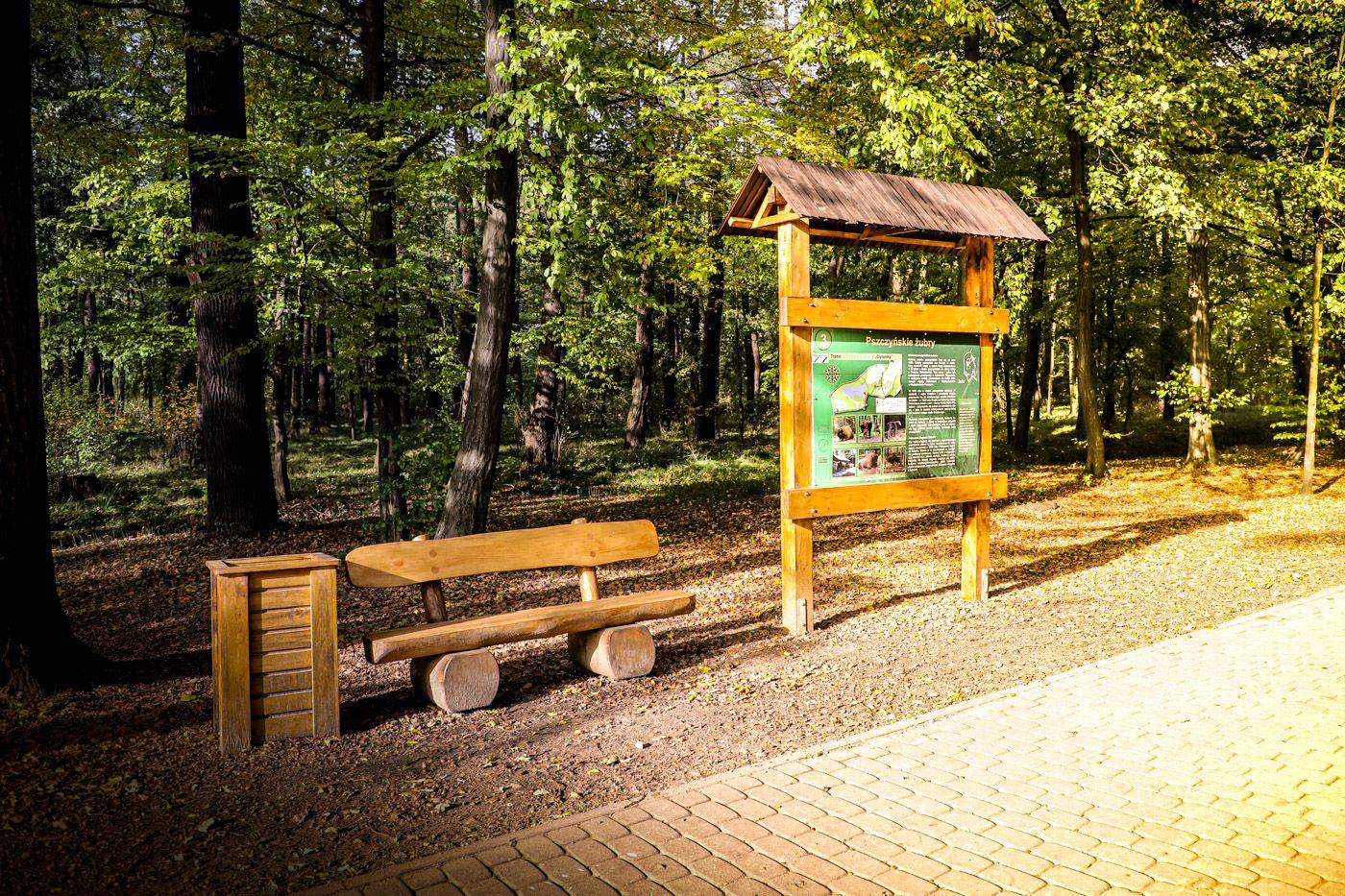 W pszczyńskim parku powstała ścieżka edukacyjna