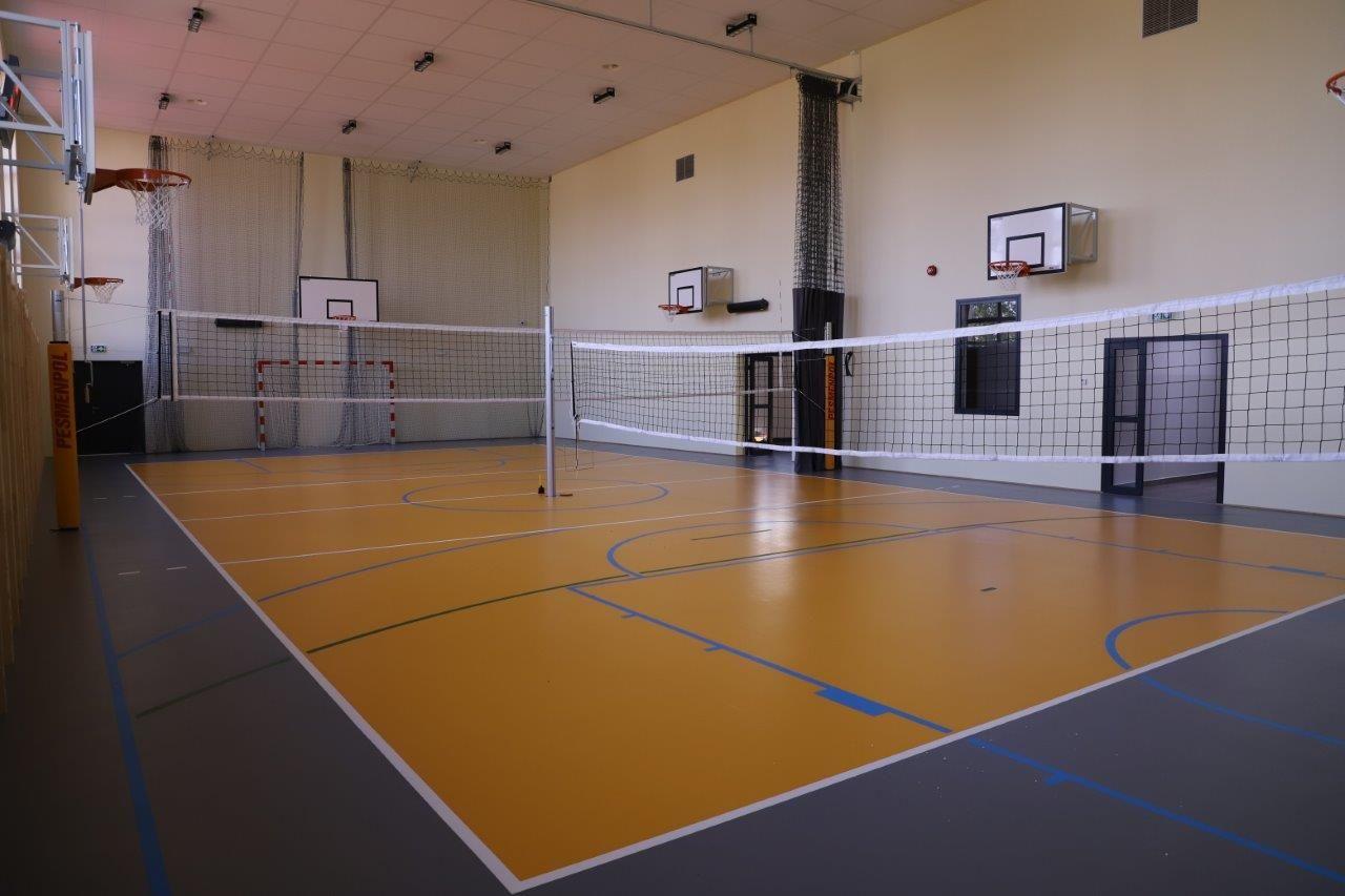 Sala gimnastyczna w Porębie jest już gotowa