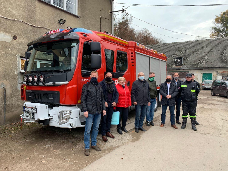 Nowy samochód ratowniczo-gaśniczy dla OSP Pszczyna