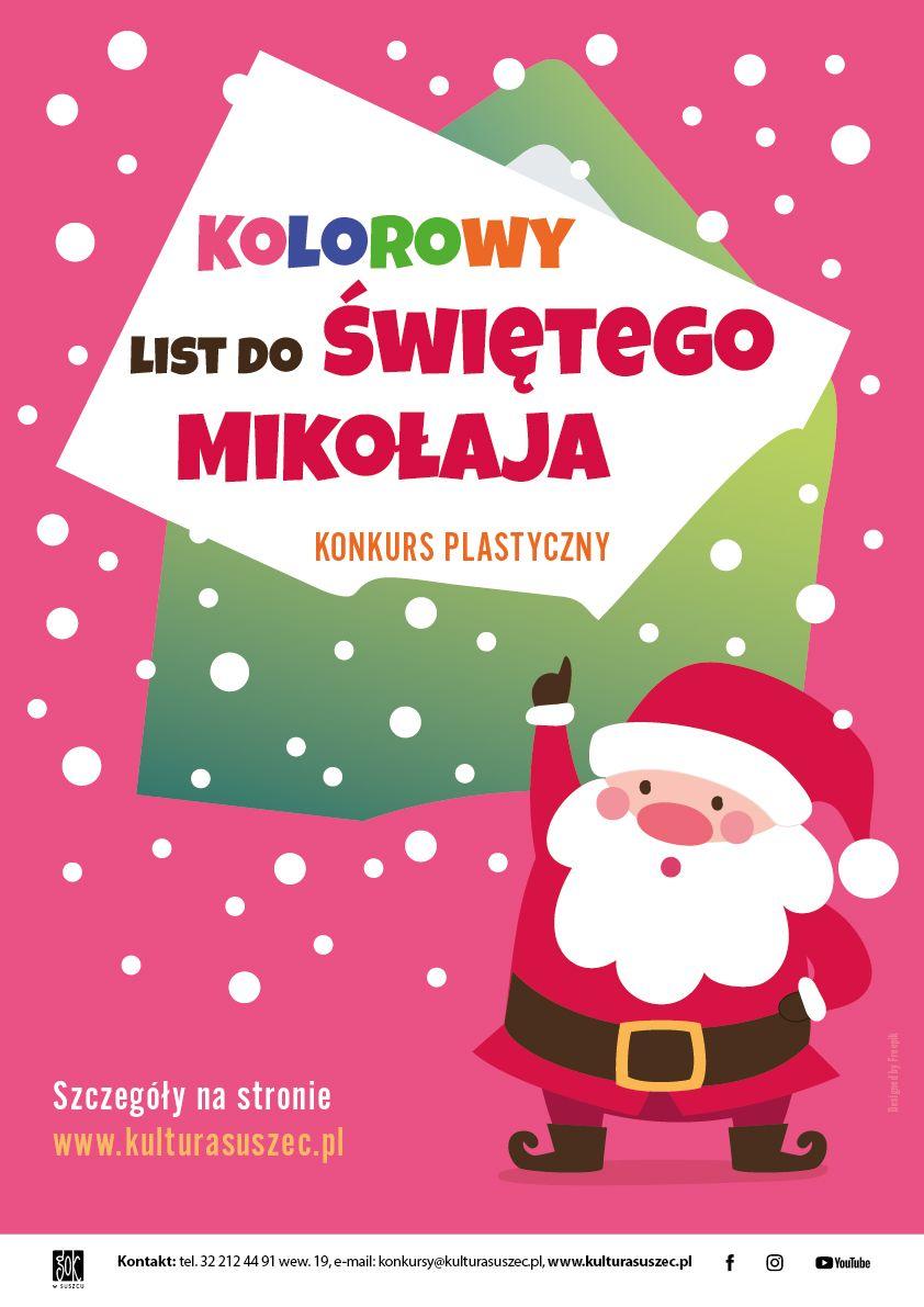 Konkurs na list do Świętego Mikołaja