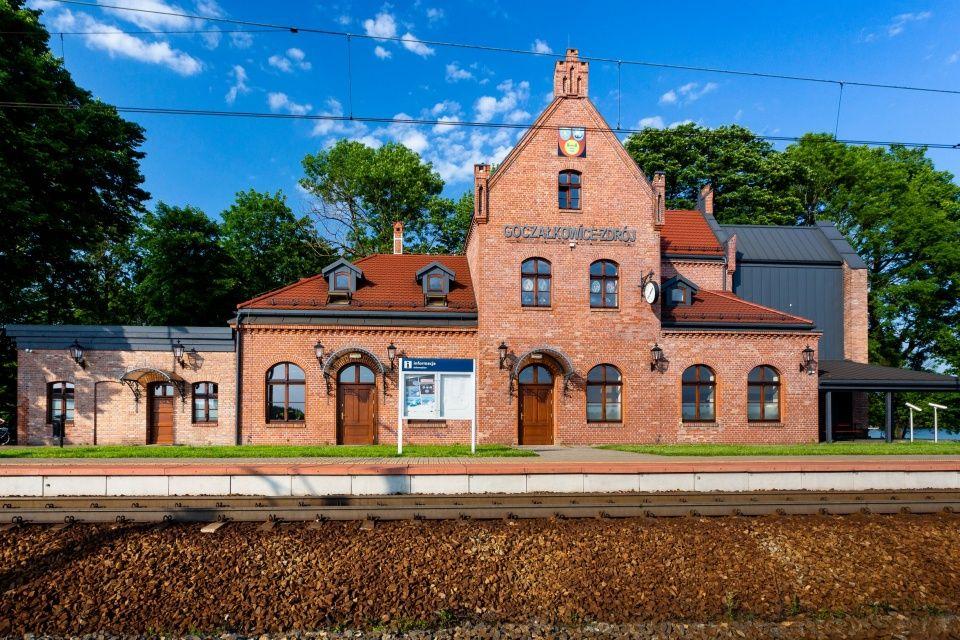 Stary Dworzec w Goczałkowicach Dworcem Roku 2020!