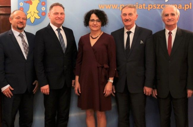 Dwa lata pracy Zarządu Powiatu Pszczyńskiego