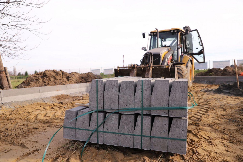 Rozpoczęto budowę parkingu w Łące