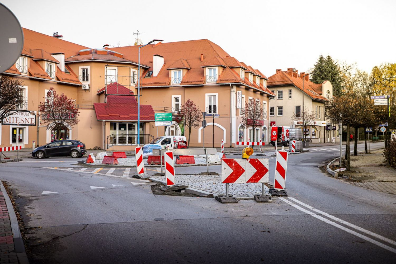 Skrzyżowanie ulic Dworcowej i Kopernika zamknięte