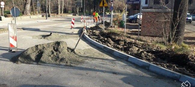 Kontynuacja remontu ul. Bielskiej w Pszczynie