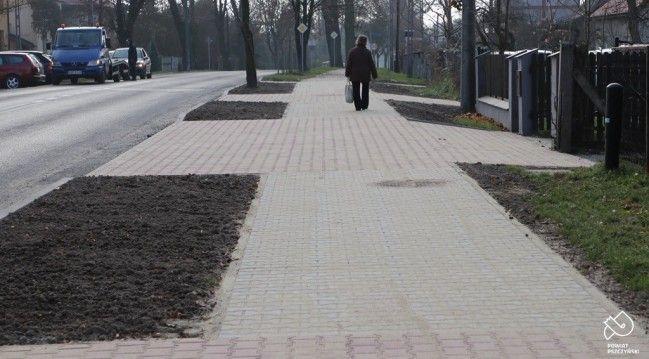 Zakończył się remont chodnika przy ul. Katowickiej