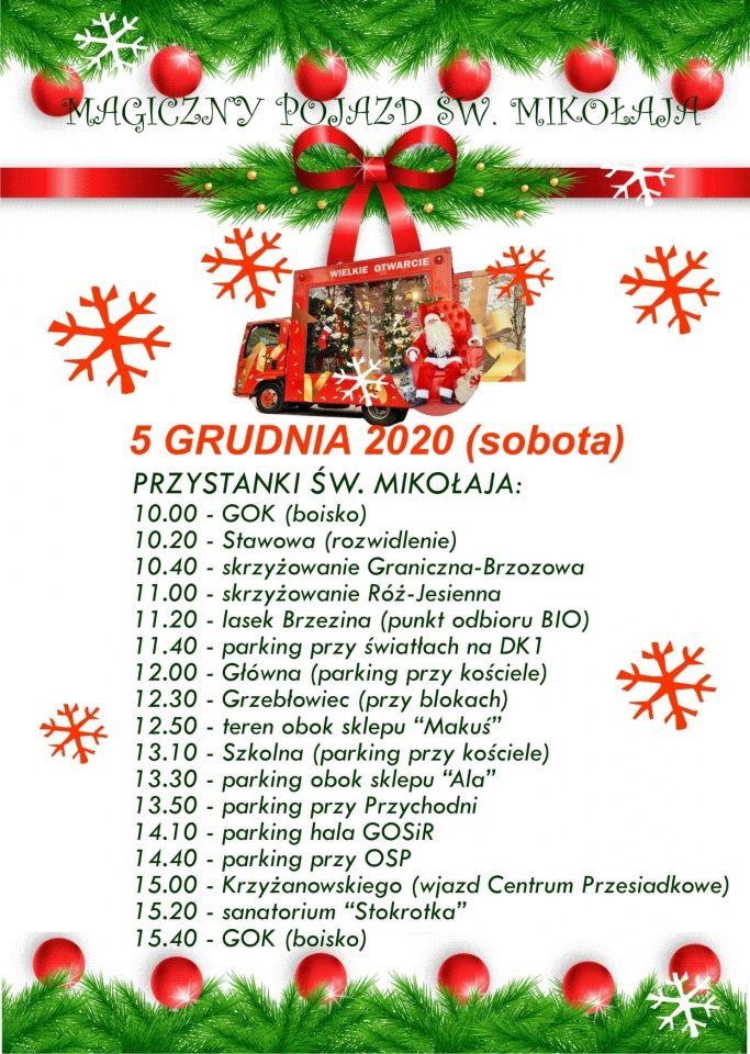 Mikołaj przejedzie przez Goczałkowice!