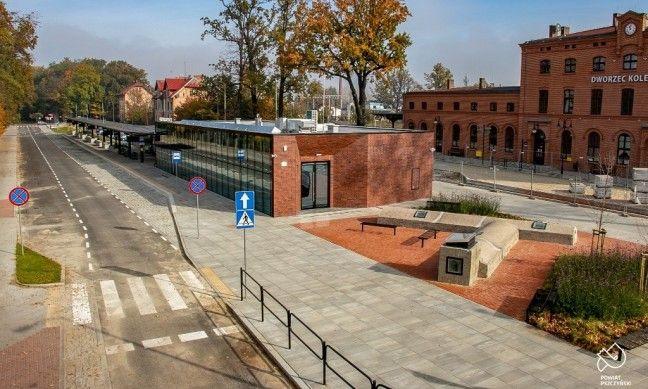 Centrum przesiadkowe wyróżnione w konkursie Najlepsza Przestrzeń Publiczna
