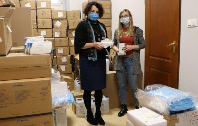 Tysiące środków ochronnych dla pszczyńskich poradni specjalistycznych