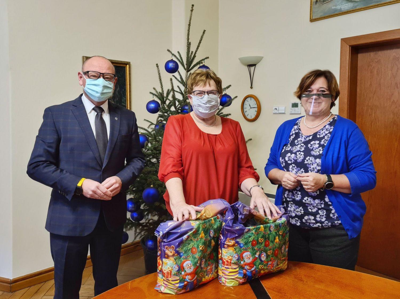 Burmistrz spotkał się z prezes Polskiego Stowarzyszenia Diabetyków Koło w Pszczynie