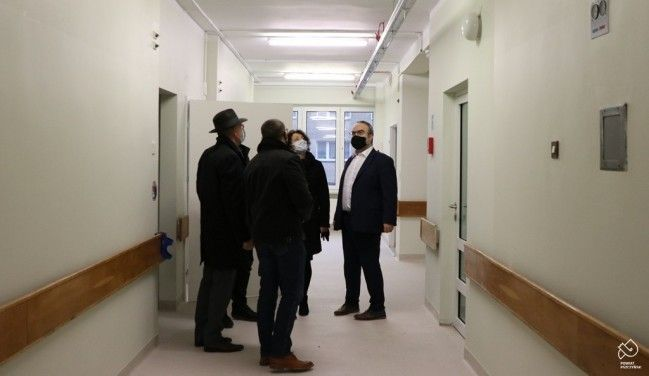Pierwszy etap przebudowy szpitala zakończony