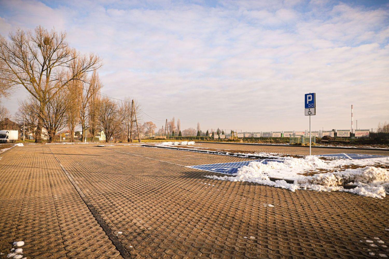 Parking w Łące oddany do użytku